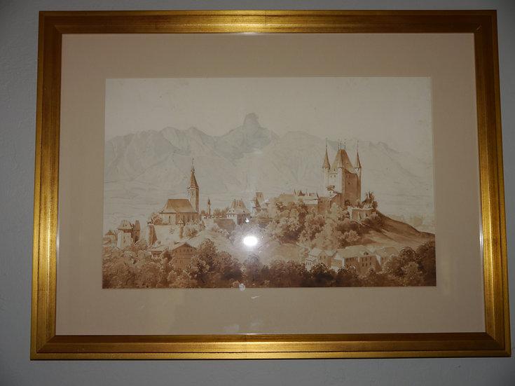 Albert Zimmerman Painting