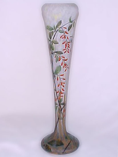 Daum Nancy Vase-SOLD