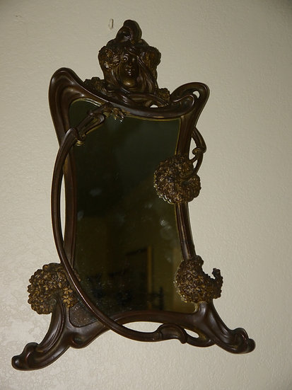 Bonnefond Art Nouveau Mirror - SOLD