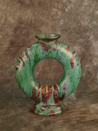 Pierre Adrien Dalpayrat Marine Vase