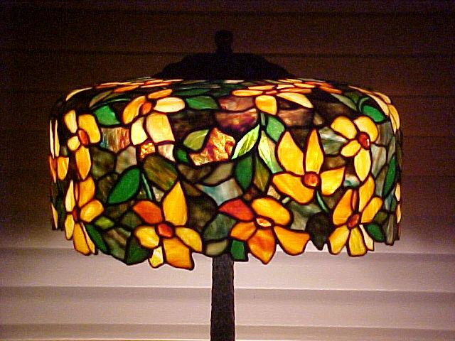 Morgan Leaded Lamp - SOLD
