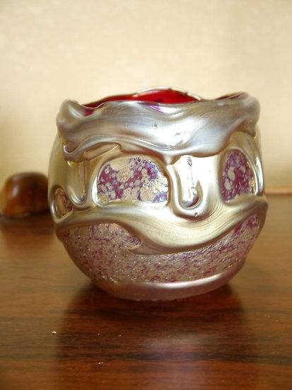 Charles Lotton Selenium Lava Vase