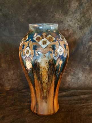 Porcelain Floor Vase-SOLD