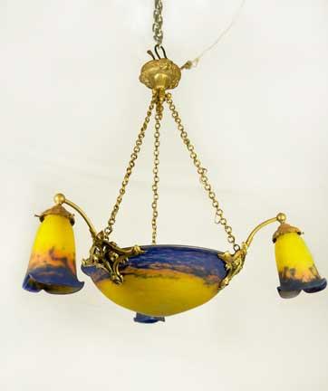 Mueller Chandelier Lamp-SOLD