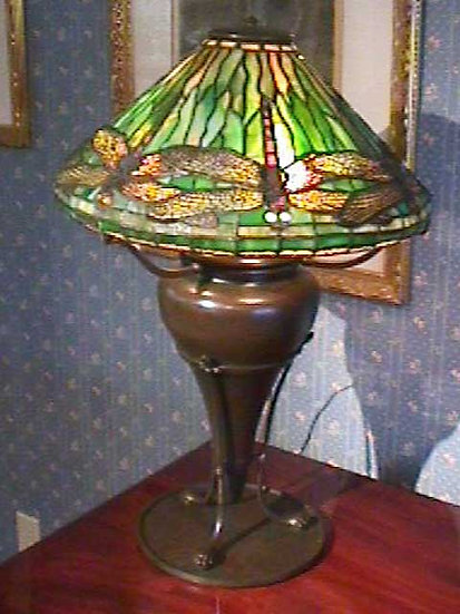 Tiffany Dragonfly Lamp-SOLD