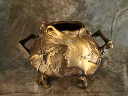 Mattei Bronze Planter-SOLD