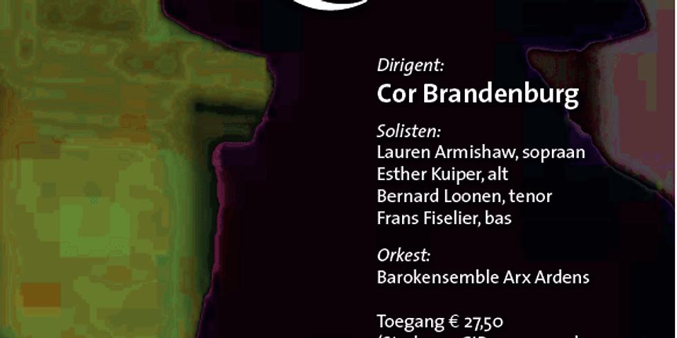 Amsterdam Dominicuskerk BWV 4 en Requiem Mozart Bachkoor Amsterdam olv Cor brandenburg
