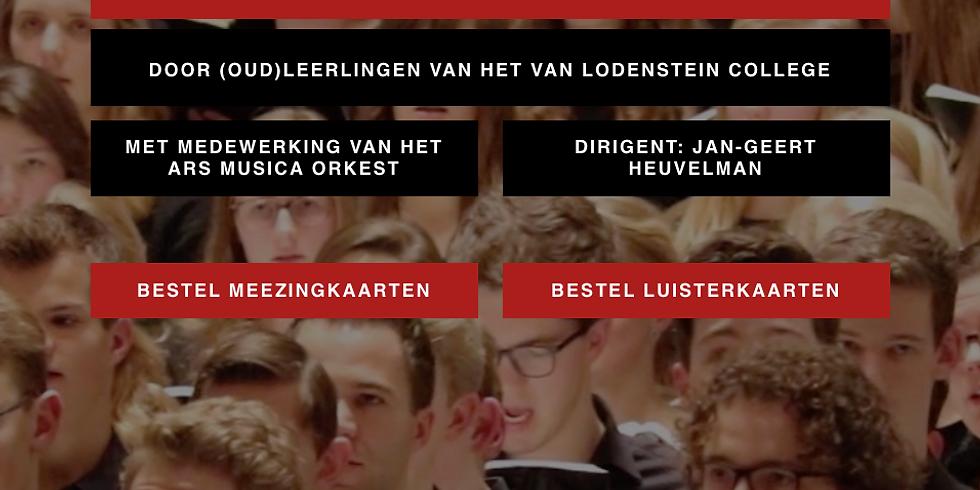 Messiah scratch G.F. Handel Ars Musica en leerlingen van het Lodenstein college o.l.v Jan-Geert Heuvelman