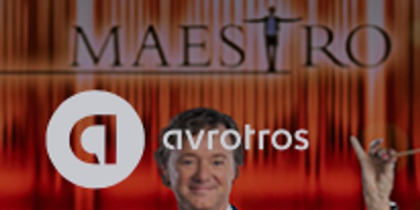 Solistisch optreden in de finale Maestro Avro Tros