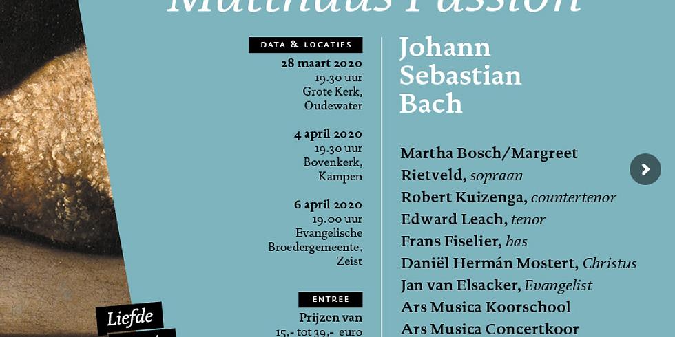 Bach in 7 woorden CKC Projectkoor o.l.v. Johan van Oeveren