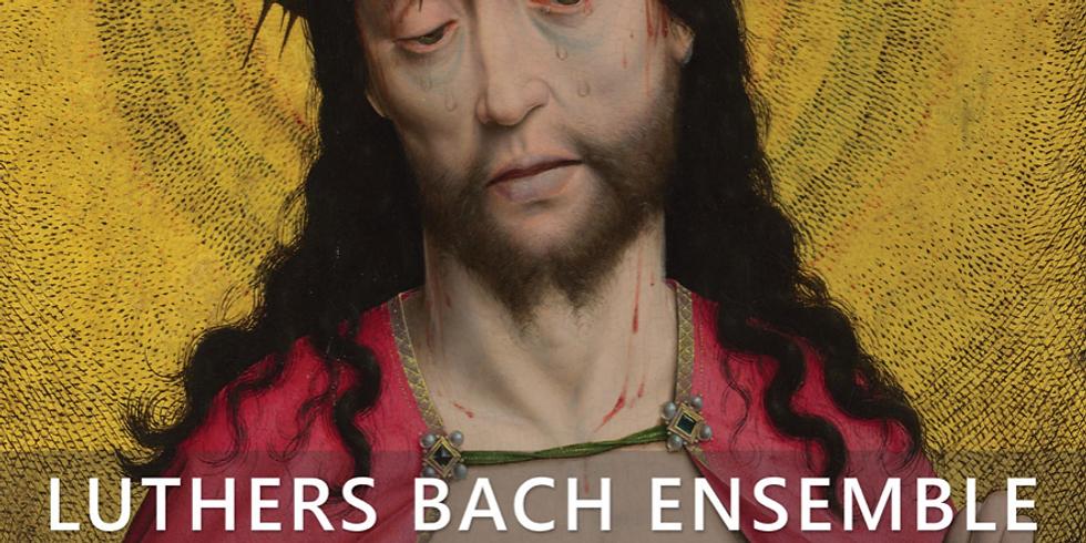 Johann Sebastian Bach, Johannes-Passion BWV 245 semi-scenisch Luthers bach ensemble o.l.v. Tymen Jan Bronda (1)