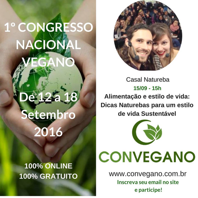 Convegano - Palestra no 1º Congresso Nacional Vegano 💚🌱