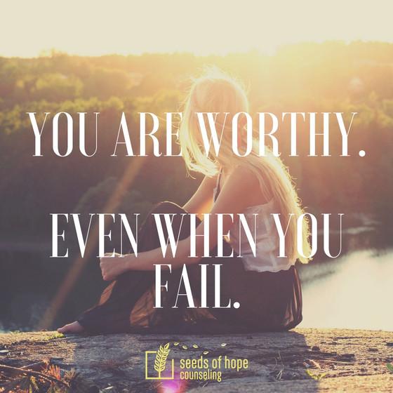 When You Feel Like a Failure