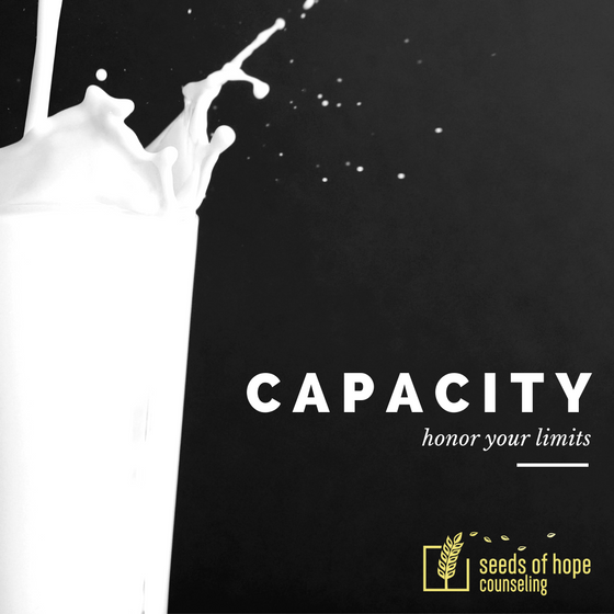 Reaching Our Capacity
