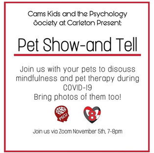 Pet Show and Tell