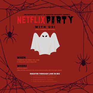Halloween Netflix Party