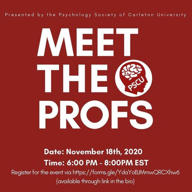 Meet the Profs