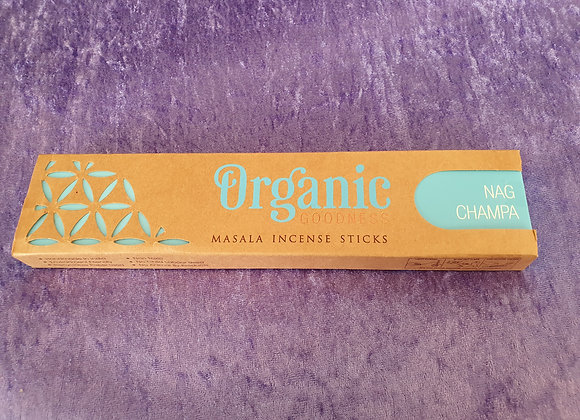 Nag Champa - Organic Incense Sticks x12