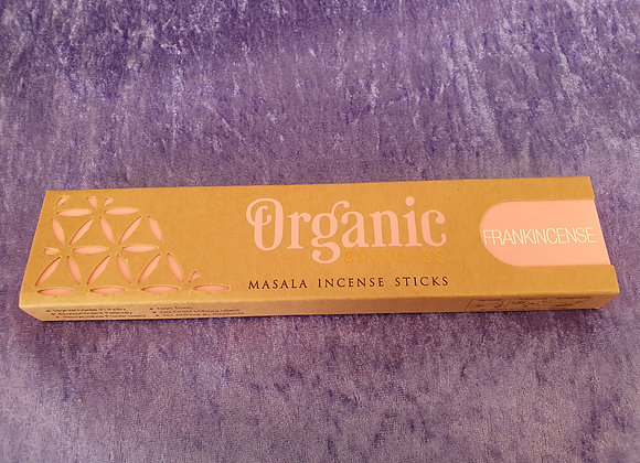 Frankincense - Organic Incense Sticks x12