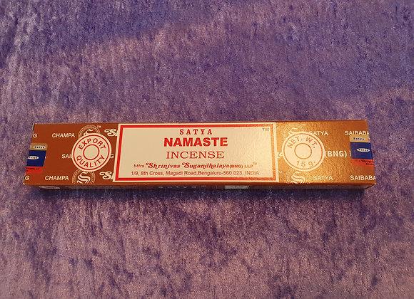 Namaste - Satya Incense Sticks