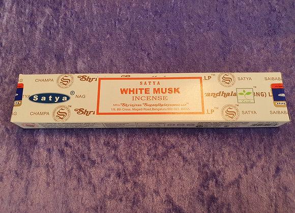 White Musk - Satya Incense Sticks