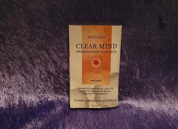 Clear Mind Bath Salt