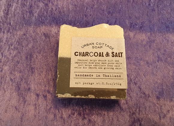 Charcoal & Salt Soap