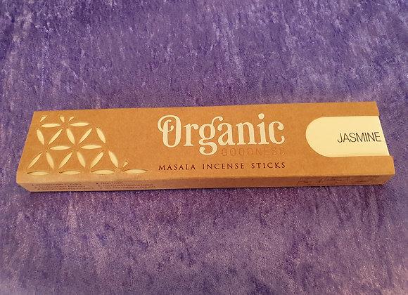 Jasmine - Organic Incense Sticks x12
