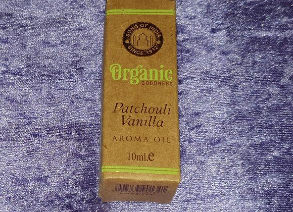 Patchouli Vanilla - Organic Oil