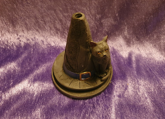 Cat & Witches Hat