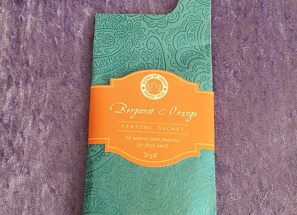 Bergamot & Orange Perfume Sachet