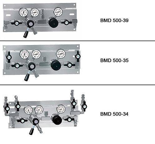 Semi-automatisch umschaltbare Entspannungsstation, 1-stufig, 2x1 BMD50035 200BAR