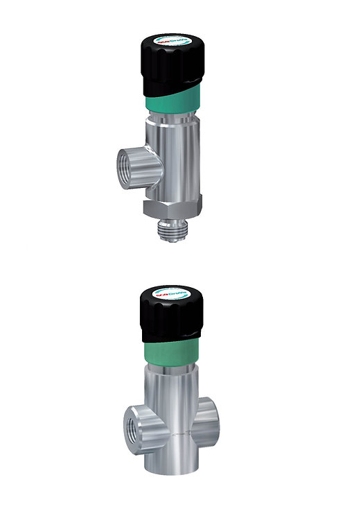 Metering valves 40 BAR, MVR-A 400 G/W with shut-off function