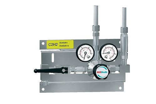 Entspannungsstation Acetylen  1-stufig 25bar BMD/SMD 200-29