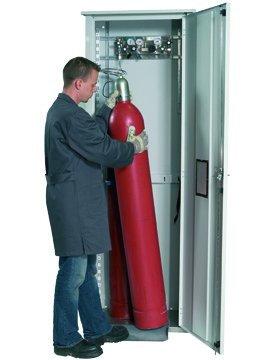 Druckgasflaschenschrank GOD.215.070R für bis zu zwei 50-Liter Flaschen