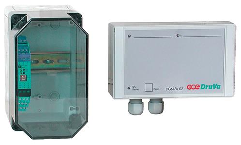 Gasmangelsignalbox DGM mit/ohne EX-Schutz