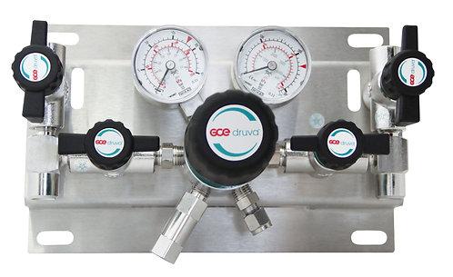 Manuell umschaltbare Entspannungsstation 1-stufig BMD 500-32, 230 BAR