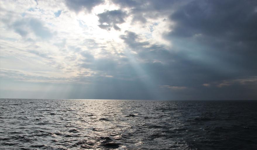God is shining on us