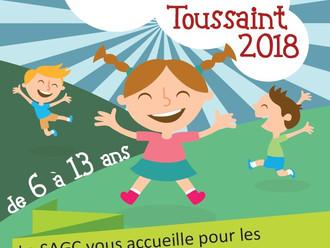 Le programme des vacances de Toussaint