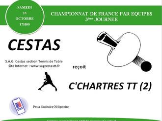 A Venir - Championnat par équipes - J3