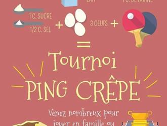 Tournoi Crêpe Février