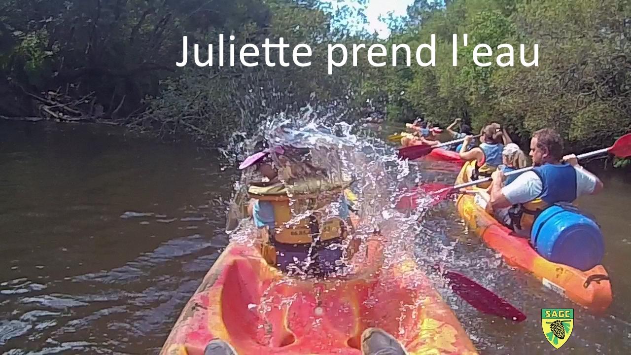 4 - Juliette prend l'eau