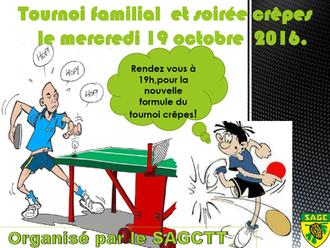 Tournoi Mercredi 19 Octobre