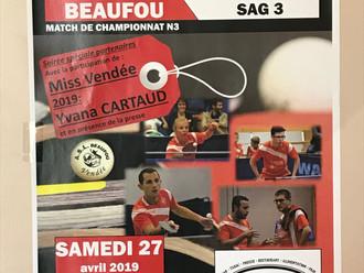 Visite inattendue en N3 à Beaufou