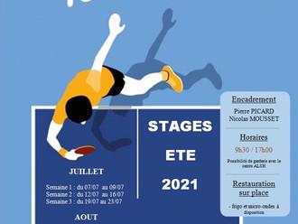 Stage Été 2021