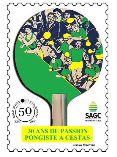 ouvrage 30 ans de passion pongiste