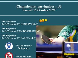 Championnat par équipes - J3