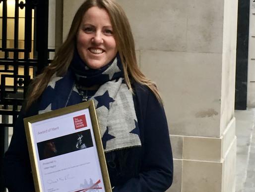 British Horse Society Award of Merit