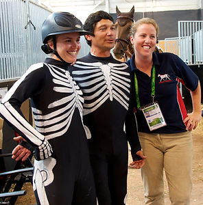 Volunteer as a horse rider or to help paint horses at a lecture demonstration