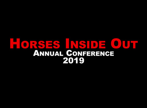 Moving Forward - Advances in Training, Technology and Tack - Annual Conference 2019